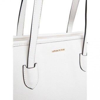... Mango Touch Saffiano Leather Tote Handbag Bag Black intl 3