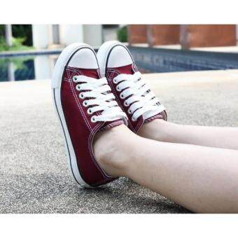 Marino รองเท้าผ้าใบผู้หญิง รุ่น A001 - สีเลือดนก (image 2)