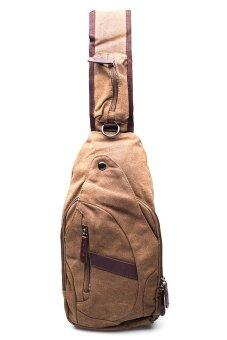 Haversack made by canvas No.8661 (Brown)