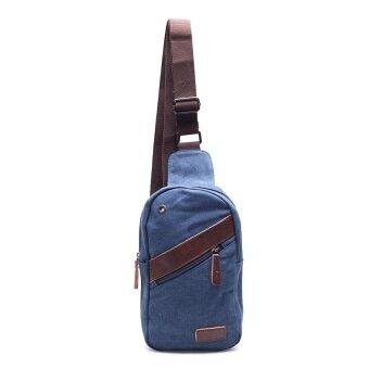 กระเป๋าสะพายข้าง รุ่น No.8660 (D.Blue)