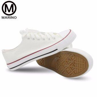 Marino รองเท้าผ้าใบผู้หญิง No.A001 - (สีขาว) (image 2)