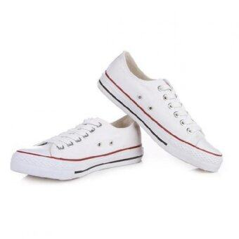 Marino รองเท้าผ้าใบผู้ชาย No.A002 - สีขาว (image 1)
