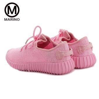 Marino รองเท้า รองเท้าผ้าใบผู้หญิง No.A004 - Pink - 4