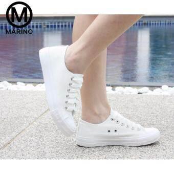 Marino รองเท้าผ้าใบผู้หญิง No.A007 - สีขาว (image 3)