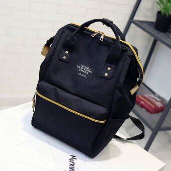 Marverlous กระเป๋า กระเป๋าเป้ กระเป๋าสะพายหลัง Backpack No.2017 - Black