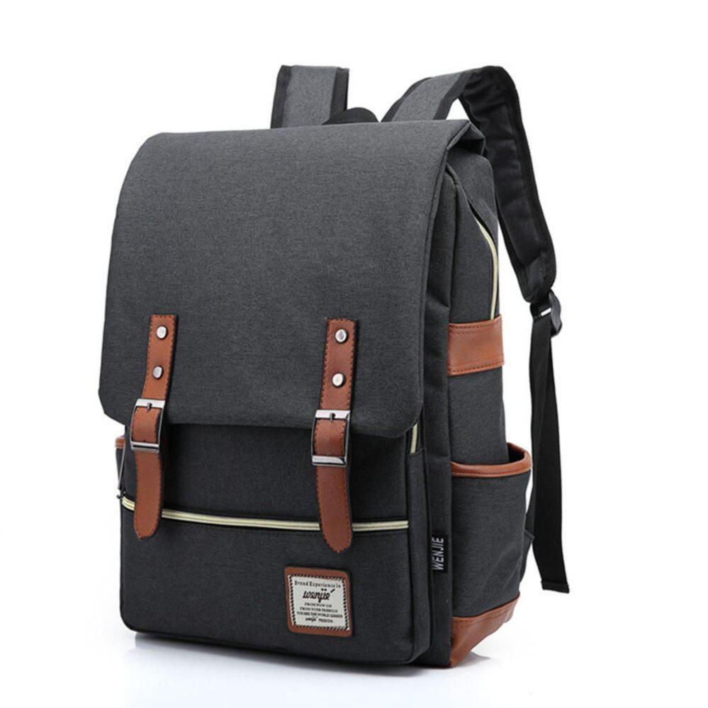 กระเป๋าถือ นักเรียน ผู้หญิง วัยรุ่น นครพนม Marverlous กระเป๋า กระเป๋าเป้ Backpack MB01 สีดำ