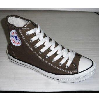 Mashare รองเท้าผ้าใบแฟชั้น มาแชร์หุ้มข้อ M-222 สีเกร์ย