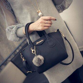 Maylin กระเป๋าสะพายข้าง กระเป๋าถือ ผู้หญิง กระเป๋าแฟชั่น เกาหลีรุ่น MB-053(สีดำ)
