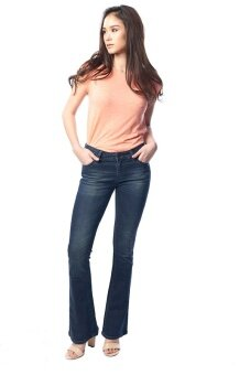 Mc Jeans Bootcut Fit Jeans WAH7146 - สีน้ำเงิน - 4