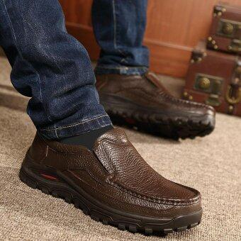 Men's fashion leisure British Genuine Leather shoes - intl - 2