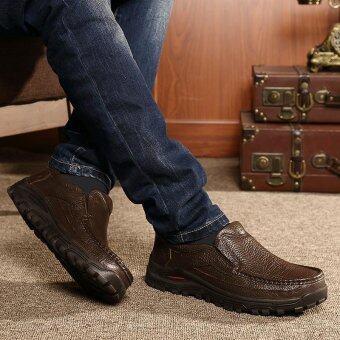 Men's fashion leisure British Genuine Leather shoes - intl - 3