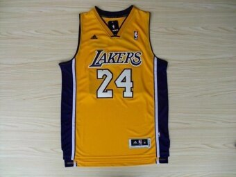 Men's NBA Kobe Bryant #24 Road Basketball Jersey ( Gold ) - intl