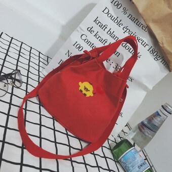 ญี่ปุ่นหญิงถุง messenger ถุงเล็ก (สีแดง)