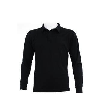 ราคา Mheecool เสื้อแขนยาวโปโล สีดำ