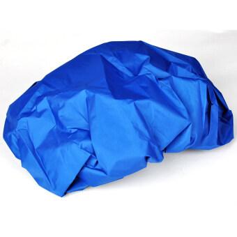 Moonar กระเป๋าเป้กระเป๋าผ้าคลุมกันฝนกันน้ำกลางแจ้ง (สีน้ำเงิน)