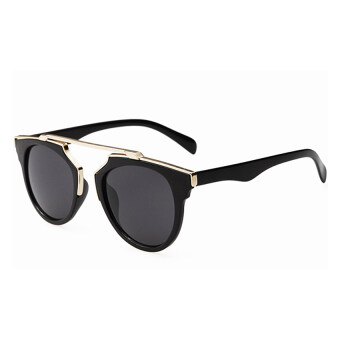 Moonar Fashion Vintage UV Protection Colorful Reflective FilmSunglasses (6#)