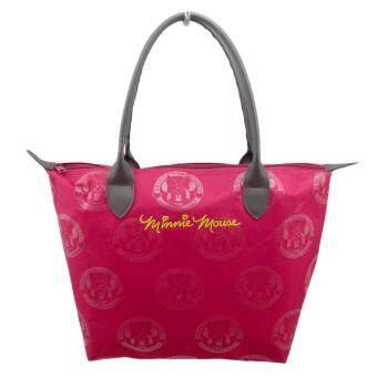 อยากขาย Morning กระเป๋าถือ Mickey Mouse งานลิขสิทธิ์ของแท้ MGM-001- สีแดง