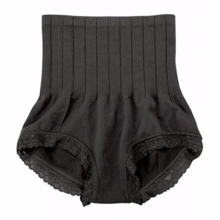 (ของแท้) MUNAFIE กางเกงในเก็บพุง สีดำ กางเกงในญี่ปุ่นกระชับสัดส่วน