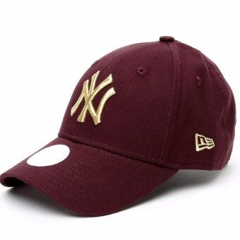 New Era 9Forty Adjustable Cap 80536410 for woman (Dark Red)