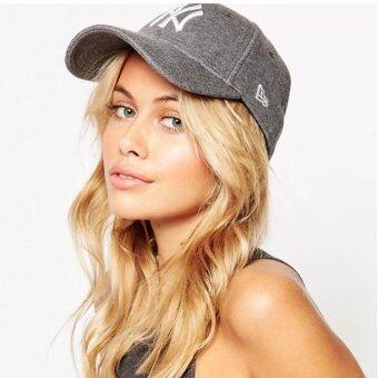 หมวก NEW ERA 9Forty Cap NY สีเทาเจอร์ซี่