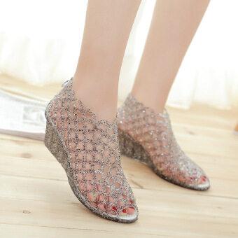 New Fashion women High heel Sandals Black - intl