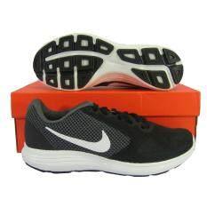 รองเท้าวิ่งผู้ชาย NIKE 819300-001 REVOLUTION 3 เทาดำ