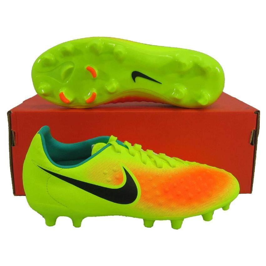 สินค้ายอดนิยม Nike รองเท้ากีฬา รองเท้าสตั๊ดเด็ก NIKE 844415-708 MAGISTAX OPUS II FG เหลืองดำ เบอร์ 2Y(Int: One size)