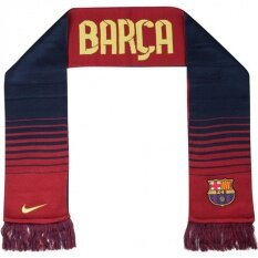 Nike ผ้าพันคอ Nike Barcelona Supporters Scarf 547136-410 (Blue/Red)