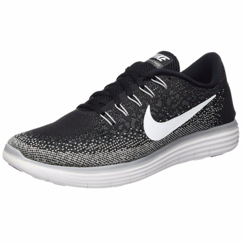 สินค้ายอดนิยม Nike รองเท้าวิ่งผู้ชาย Nike Free RN Distance 827115-010 (Black/Dark Grey/Wolf Grey/White)