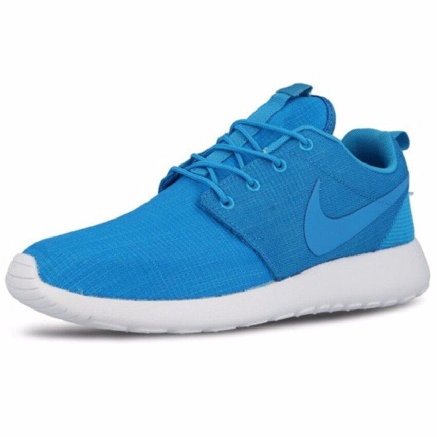 Nike รองเท้าแฟชั่นผู้ชาย Nike Roshe One SKU 511881-447 (Blue Lagoon)