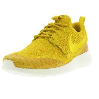 Nike รองเท้าแฟชั่นหญิง NIke Roshe Run Flyknit 704927-701 (Yellow)