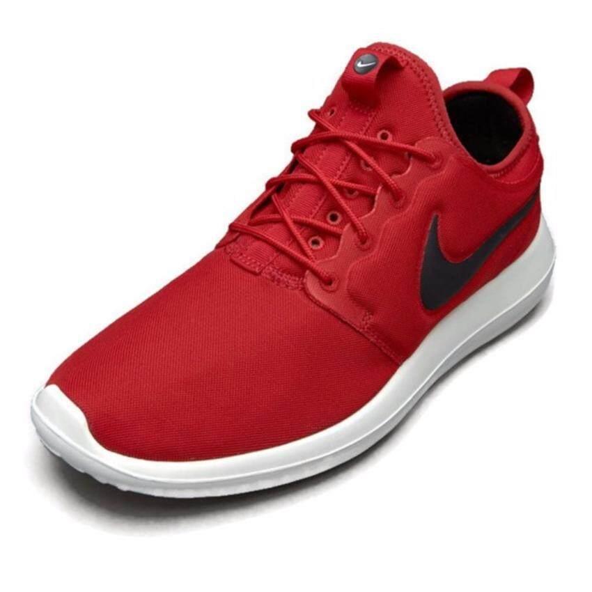 เปรียบเทียบราคา Nike รองเท้าแฟชั่นผู้ชาย Nike Roshe Two 844656-600 (Gym Red/Black Sail Volt)