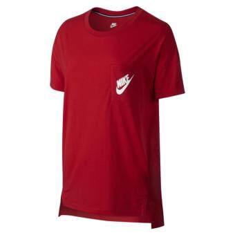 Nike ผู้หญิง Women (โปรดเทียบไซด์เสื้อตามตาราง) เสื้อฟิตเนส เสื้อลำลอง เสื้อวิ่ง เสื้อเที่ยว เสื้อบาส เสื้อใส่สบาย เสื้อบอล เสื้อยืด เสื้อโปโล เสื้อ รุ่น Nike