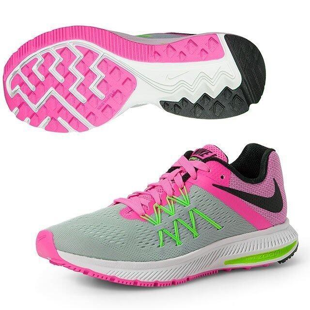 NIKE รองเท้า วิ่ง ไนกี้ Women Running Shoes Zoom Winflo 3 831562-003 (3500)