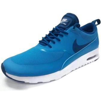 Nike รองเท้าแฟชั่นผู้หญิง Women's Nike Air Max Thea 599409-411 (Blue Lagoon/Obsidian/White)