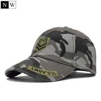 [NORTHWOOD] High Quality US Army Cap Camo Mens Baseball Cap Brand Tactical Cap Mens Hats and Caps Gorra Militar for Adult - intl