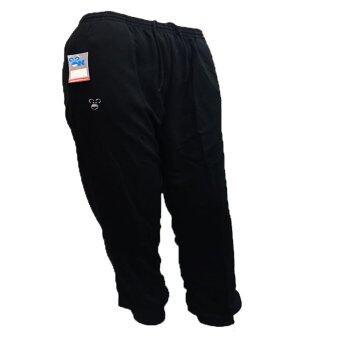 Oic sport กางเกงวอร์ม ขายาว / เด็ก 111 (สีดำ) S-XL