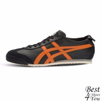 Onitsuka Tiger รุ่น Mexico 66 D4J2L-9062 (Black / Hawaiian Sunset)