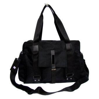กระเป๋าสะพายไหล่ผู้ชาย หรือถือ รุ่น NG502 - Black
