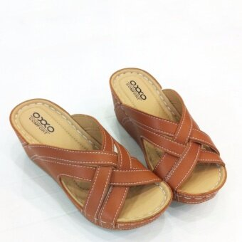 OXXO รองเท้าเพื่อสุขภาพรุ่น SM5161 สีตาล