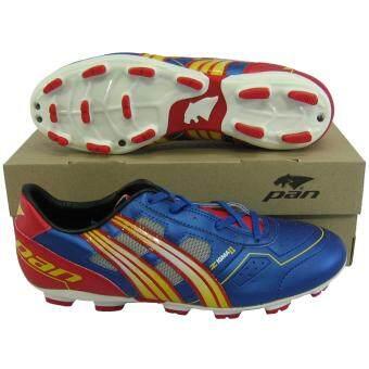 รองเท้ากีฬา รองเท้าสตั๊ด PAN 15M5 ZIGMA II กรมแดง