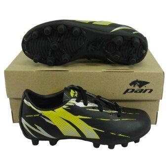 รองเท้ากีฬา รองเท้าสตั๊ดเด็ก PAN PF-15S1 SONIC VIPER KING S JRSHOES ดำเหลือง