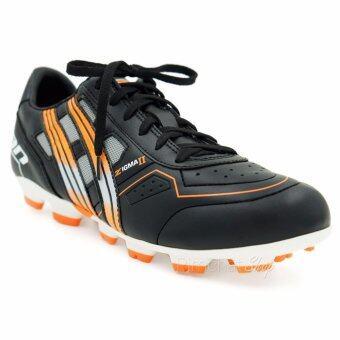 PAN รองเท้ากีฬาฟุตบอล รุ่น Zigma II (สีดำ)