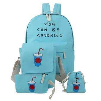 รีวิว PARBUF กระเป๋าผ้า กระเป๋าถือ สีน้ำเงิน CV029