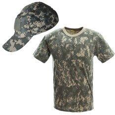 PARBUF เสื้อทหาร หมวกทหาร หมวกแก้ป คาโม คุณภาพสูง SET 1