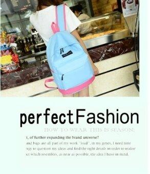 เกาหลีหญิงเดินทางกระเป๋าเป้สะพายหลังกระเป๋าสะพายไหล่ (PARK'S สี)