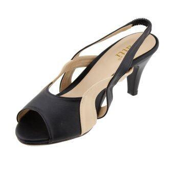 Patti รองเท้าผู้หญิง แฟชั่น รุ่น P78-012 (Black) - 3