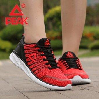 ซื้อ/ขาย PEAK รองเท้า วิ่ง มาราธอน Marathon ระบายอากาศ พีค Running Shoe รุ่น E73378H Red