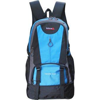 "Peimm Modello backpack กระเป๋าเป้สะพายหลัง 57 Cm 30+5 L กันน้ำ (สีฟ้า)"""