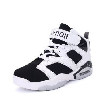 Harga PINSV Men Lovers Sport Shoes Basketball Shoes (White) - Intl